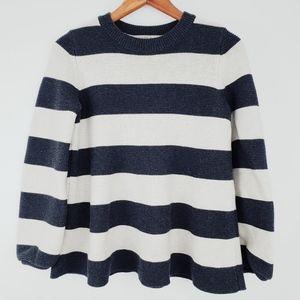 Ann Taylor Loft Women's Medium Striped Sweater